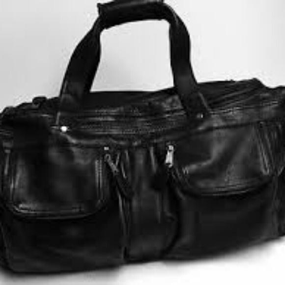 Frye Bags Weekender Duffle Crossbody Bag W Strap Unisex