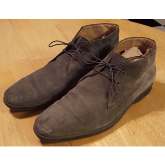 750677c3ba TOD'S Polacco Gray Lace-up Ankle Boots Chukka Men.  M_5966e2212599feabf7019e2e