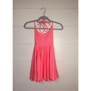 American Apparel Nylon Tricot Figure Skater Dress