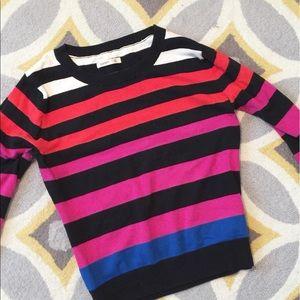Striped 3/4 Sleeve Sweater!! ❤️