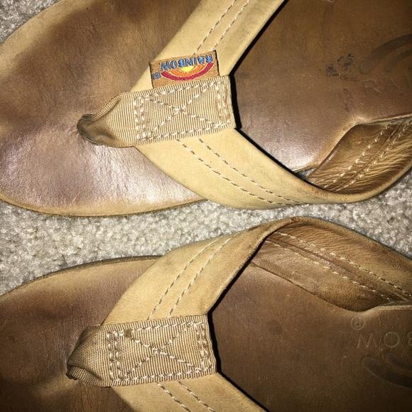 71 Off Rainbow Shoes Rainbow 🌈 Flip Flop Sandals Worn