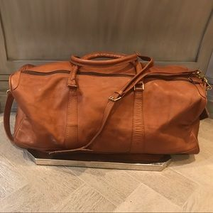 Other - Leather duffle