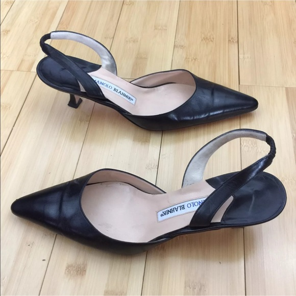 Manolo Blahnik Shoes - Manolo Blahnik Carolyne Slingback well cared for!
