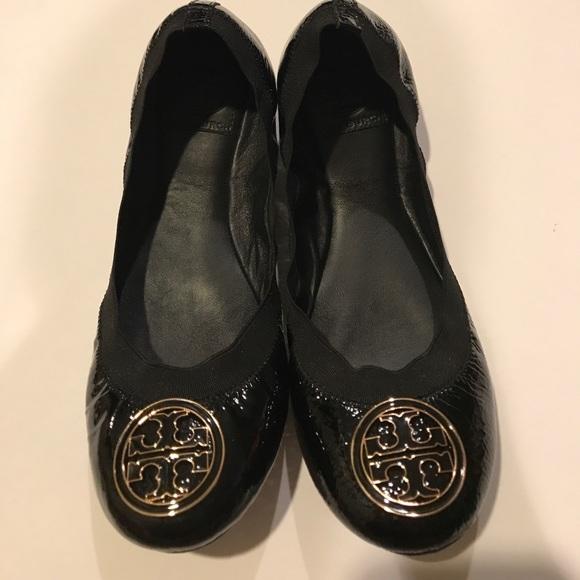 f945af5e64c179 Tory Burch Shoes - Tory Burch Caroline Naplak elastic - Patent black