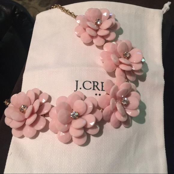 a471735c810cae J Crew Factory Jewelry | Flash Sale J Crew Crystal Floral Burst ...