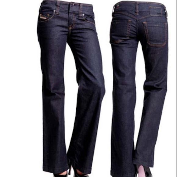 55a31474 Diesel Jeans   Nwot Womens Wide Leg Lambry 26x32   Poshmark