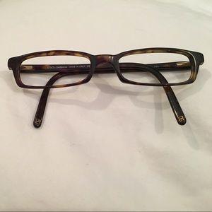 Dolce & Gabbana glasses frames. No lenses.