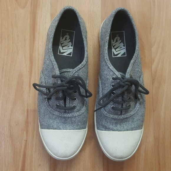 Vans Shoes - VANS Gray Suede Lace Up Sneakers - W 8 or M 6.5 91bcc9809