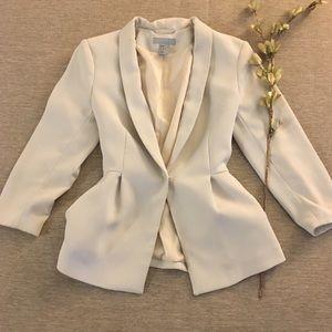 H&M peplum blazer
