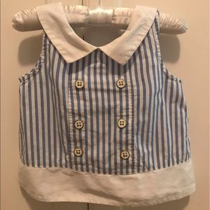 Janie and Jack baby girl blouse