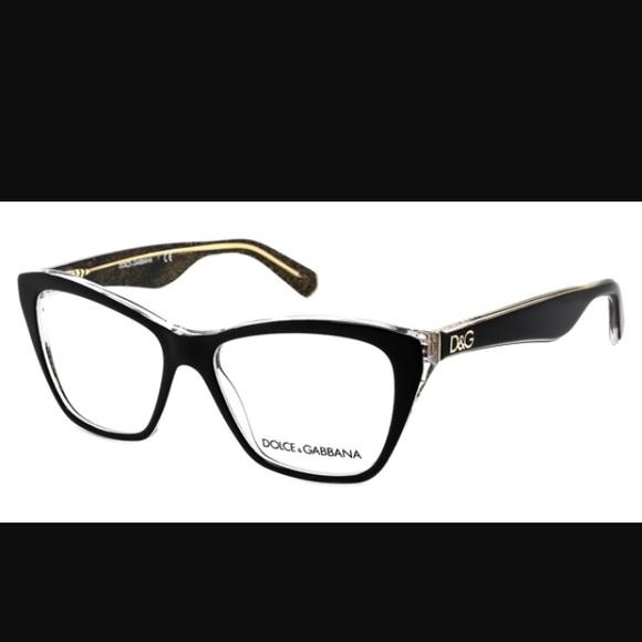 34e4edab61d9 Dolce   Gabbana DG3167 Lip Gloss Eyeglasses Black
