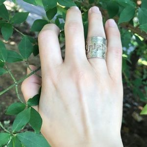Jewelry - Vintage Silver Ring Unique Design 