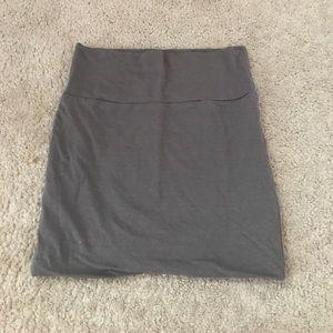 Wet seal gray skirt