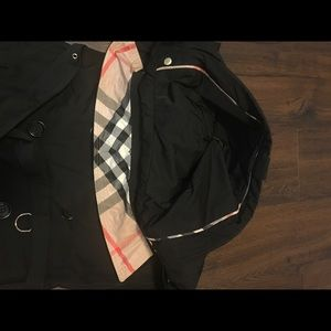 Burberry Burberry Daylesmoore Short Double Wool Twill