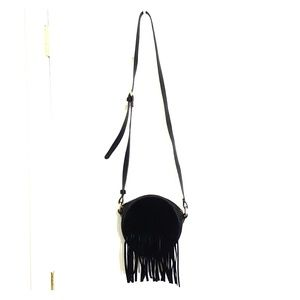 Boho Black Crossbody