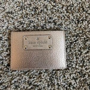 Kate Spade Card Wallet (Rose Gold)