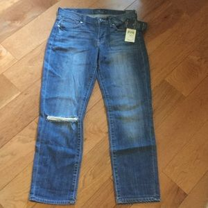 Lucky Brand cropped jeans - NWT