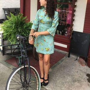 Vintage Asian inspired dress