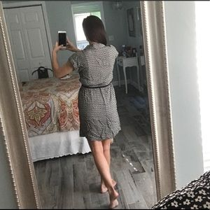 LOFT Dresses - Floral print shirt dress