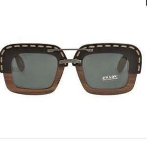 ae0d3c63645a Prada Accessories - Authentic Prada Wooden Leather Sunglasses 😎