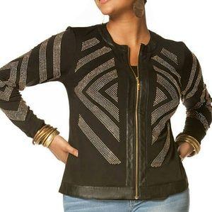 Jackets & Blazers - SALE! Plus Size Bedazzled Jacket