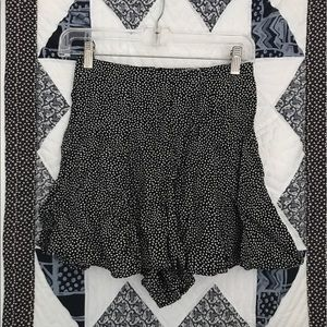 Vintage B&W High Waisted Shorts