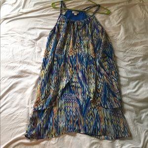 Bisou Bisou flowy printed dress