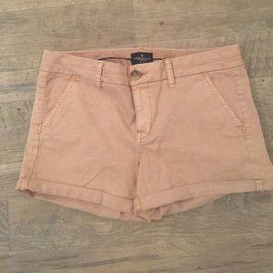 NWOT American Eagle khaki midi shorts SALE TODAY