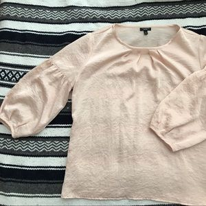 Tops - 3/4 Bell sleeve blush blouse