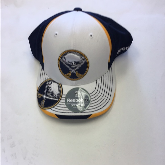9134350b559d0 Buffalo Sabres Reebok NHL Flex-Fit Hat