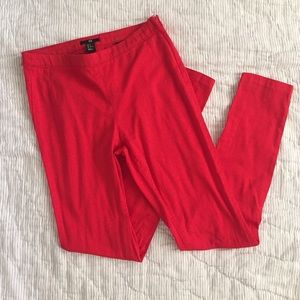 H&M red pants size 6