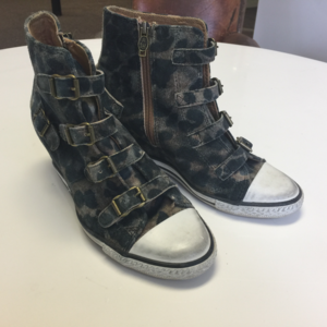 ASH Buckled Wedge Sneaker