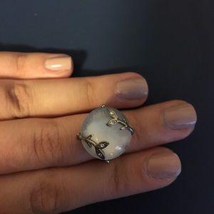 Jewelry - white stone ring
