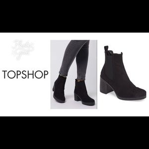 TOPSHOP Barnaby Bootie / Boots