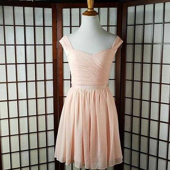 A/X Armani Exchange Dresses & Skirts - Peach ARMANI EXCHANGE Pleated Dress Size 0