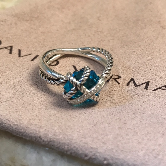 29 Off David Yurman Jewelry Dy Cable Wrap Ring With