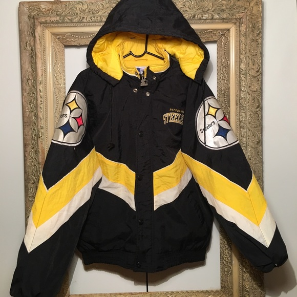 save off bba8c 059f8 Vintage Pittsburgh Steelers Starter Jacket x 90s