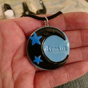 Custom made pendant and chain.