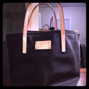 Kate Spade black nylon purse