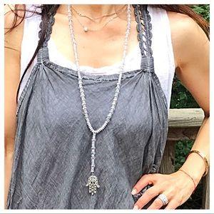 Jewelry - 🆕 beaded Hamsa necklace
