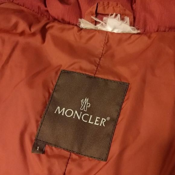 Moncler Jackets & Coats - Vintage Red Moncler Duvet Neuf