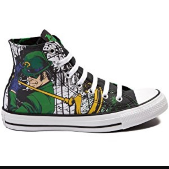 f1261d3024d3 Converse Shoes - CONVERSE ALL STAR-DC ComicsHI TOP RIDDLER Sneakers