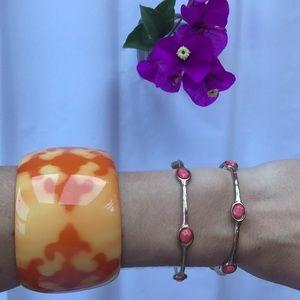 Jewelry - Fleur de lis cuff bracelet