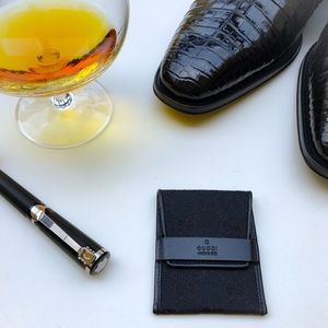 Tom Ford for Gucci Rare Condom Wallet Case Black
