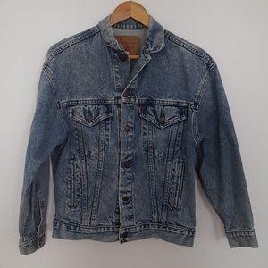 Vintage 90s Levis Denim Trucker Jacket