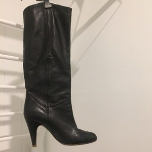 ALDO TALL Faux LEATHER BOOTS SIZE 37