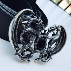 Royal Dragon GoT English Pewter Belt Buckle
