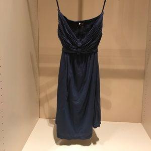 NWOT BCBG strapless convertible halter dress