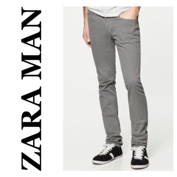 588b9c1c98 💸Men's Black Label Zara Man gray skinny size 32