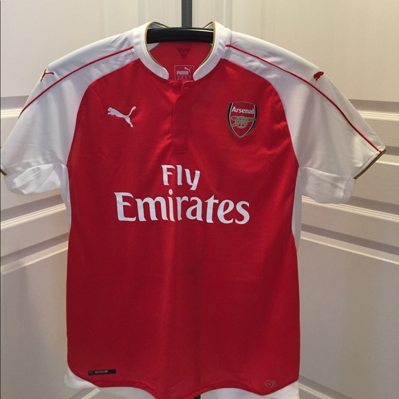 watch e48ce f111a Puma Arsenal Authentic Home Jersey 15/16/New NWT